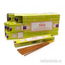 Ароматические палочки Тулси (Tulsi) Satya – 15 гр.