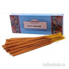 Ароматические палочки Фруктовый рай (FRUTTI PARADISE)/ Vrindavan – 100 гр.