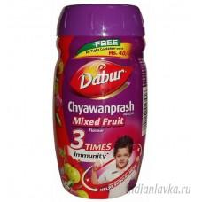 Чаванпраш со вкусом Мультифрукт Дабур/Индия – 500 мл.