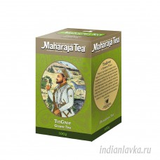 Чай Махараджа Ассам Тингри зелёный/Индия -100 гр.