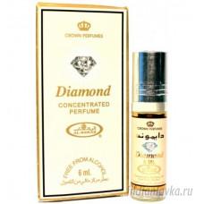 Духи масляные с роликом DIAMOND (Диамонд) Al-Rehab – 6мл.