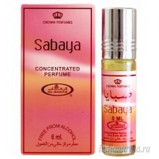 Духи масляные с роликом Sabaya (Сабайя) Al-Rehab – 6мл.