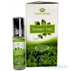 Духи масляные с роликом Green Tea (Грин Теа) Al-Rehab – 6мл.