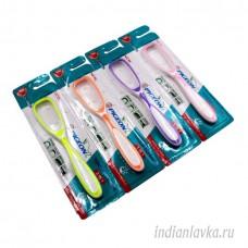 Скребок для чистки языка (Copper tongue cleaner)/Индия