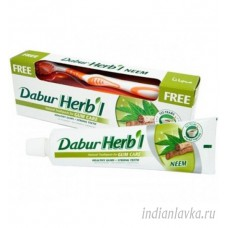 Зубная Паста С Нимом DABUR 150 Г + Зубная Щётка Средней Жесткости/Индия – 150 гр.