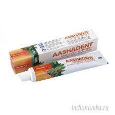 Зубная паста Кардамон-Имбирь Aashadent/Индия – 100 гр.