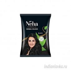 Краска для волос Чёрная Neha Henna /Индия -  20 гр.
