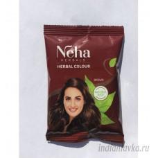 Краска для волос Neha Каштан (Brown)/ Индия – 20 гр.