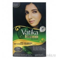 Краска Для Волос Черный (BLACK) DABUR VATIKA/ Индия – 60 гр.
