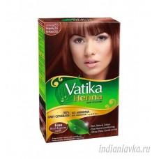 Краска для волос Бургунд (BURGUNDY) DABUR VATIKA/Индия – 60 гр.