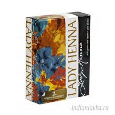 Краска для волос Черный Индиго Lady Henna/Индия – 60 гр.