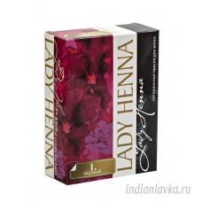 Краска для волос Черная Lady Henna/60 гр. – Индия