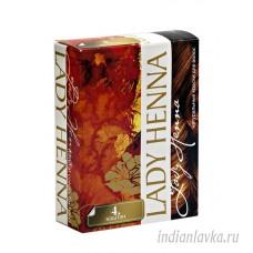 Краска для волос Каштан Lady Henna/60 гр. - Индия.