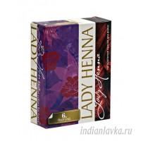 Краска для волос Бургунд Lady Henna/60 гр. - Индия