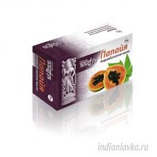 Мыло аюрведическое «Папайя» Aasha Herbals/Индия – 75 гр.